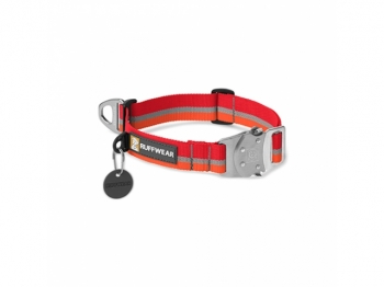 Ruffwear Top Rope Collar kokanee red