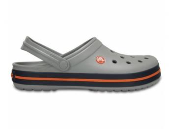 Crocs Crocband Clog light grey navy