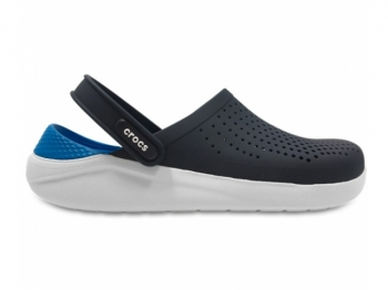Crocs Lite Ride Clog navy white