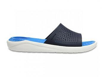 Crocs Lite Ride Slide navy white
