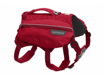 Ruffwear Single Track Pack red currant