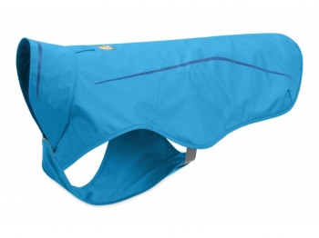 Ruffwear Sun shower Rain Jacket blue d..