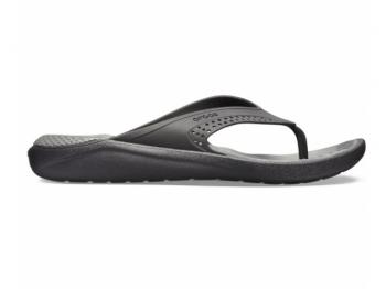 Crocs Lite Ride Flip black slate grey