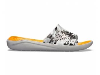 Crocs Lite Ride Graphic Slide camo lig..
