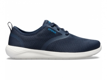 Crocs Ms Lite Ride Mesh Lace navy white