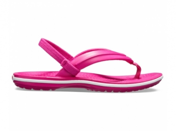 Crocs Ks Crocband Strap Flip candy pink
