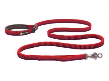 Ruffwear Roamer Bungee Dog Leash red sumac