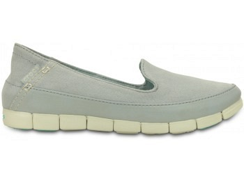 Crocs Ws Stretch Sole Skimmer ligrey stuc
