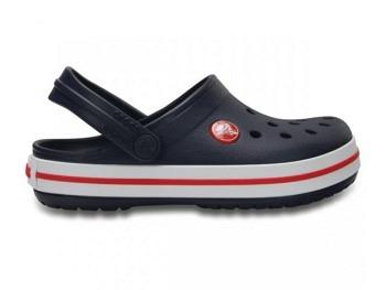 Crocs Kids Crocband Clog navy red