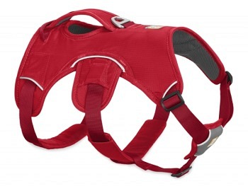 Ruffwear Web Master Harness red currant new