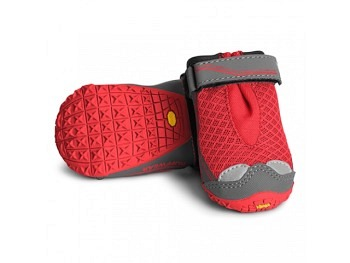 Ruffwear Grip Trex Schuhe red currant new 2Stk