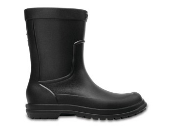 Crocs Mens AllCast Rain Boot black black