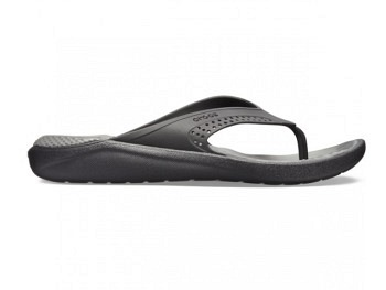 Crocs Lite Ride Flip black slate grey