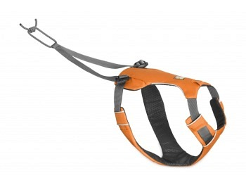 Ruffwear Omnijore Joring System Set orange poppy