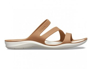 Crocs Ws Swiftwater Sandal bronze oyster