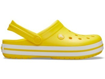 Crocs Crocband Clog lemon white