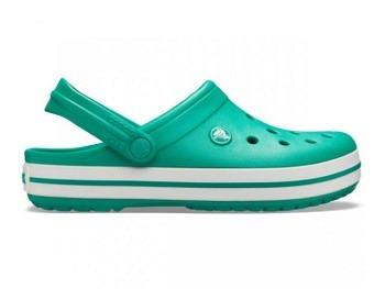Crocs Crocband Clog deep green white