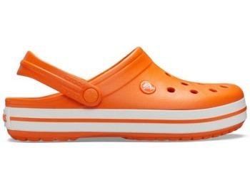 Crocs Crocband Clog orange white