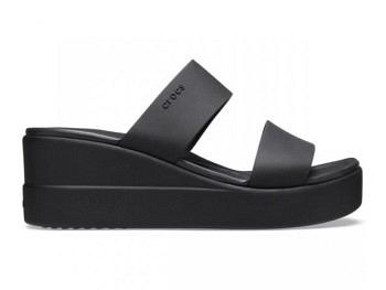 Crocs Ws Brooklyn Mid Wedge black black