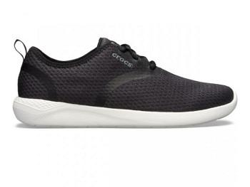 Crocs Ws Lite Ride Mesh Lace black white