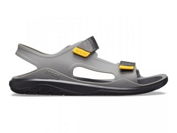 Crocs Mens Swiftwater Exped Sandal slate grey black