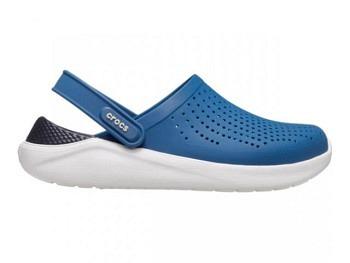 Crocs Lite Ride Clog vivid blue almost white