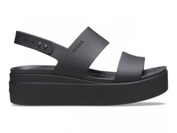 Crocs Ws Brooklyn Low Wedge black black