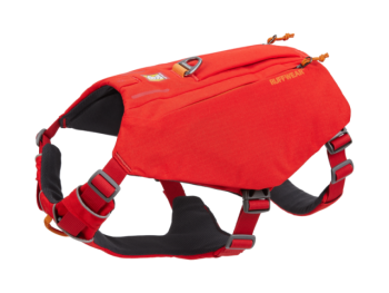 Ruffwear Switchbak Dog Harness red sumac