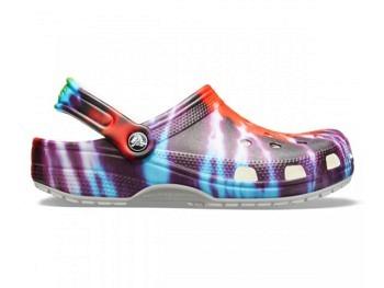 Crocs Tie Dye Graphic Clog multi