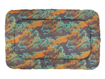 Ruffwear Base Camp Dog Bed orange reef